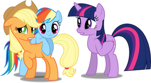 Vector #190 - We're Confused by DashieSparkle