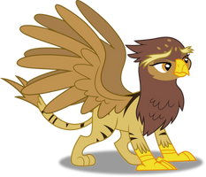 Vector #194 - The Griffonstone Delegate by DashieSparkle