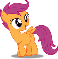 Vector #220 - Scootaloo #4 by DashieSparkle
