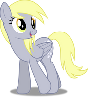 Vector #245 - Derpy Hooves #7 by DashieSparkle