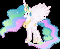 Vector #251 - Princess Celestia #2 by DashieSparkle