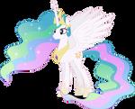 Vector #251 - Princess Celestia #2