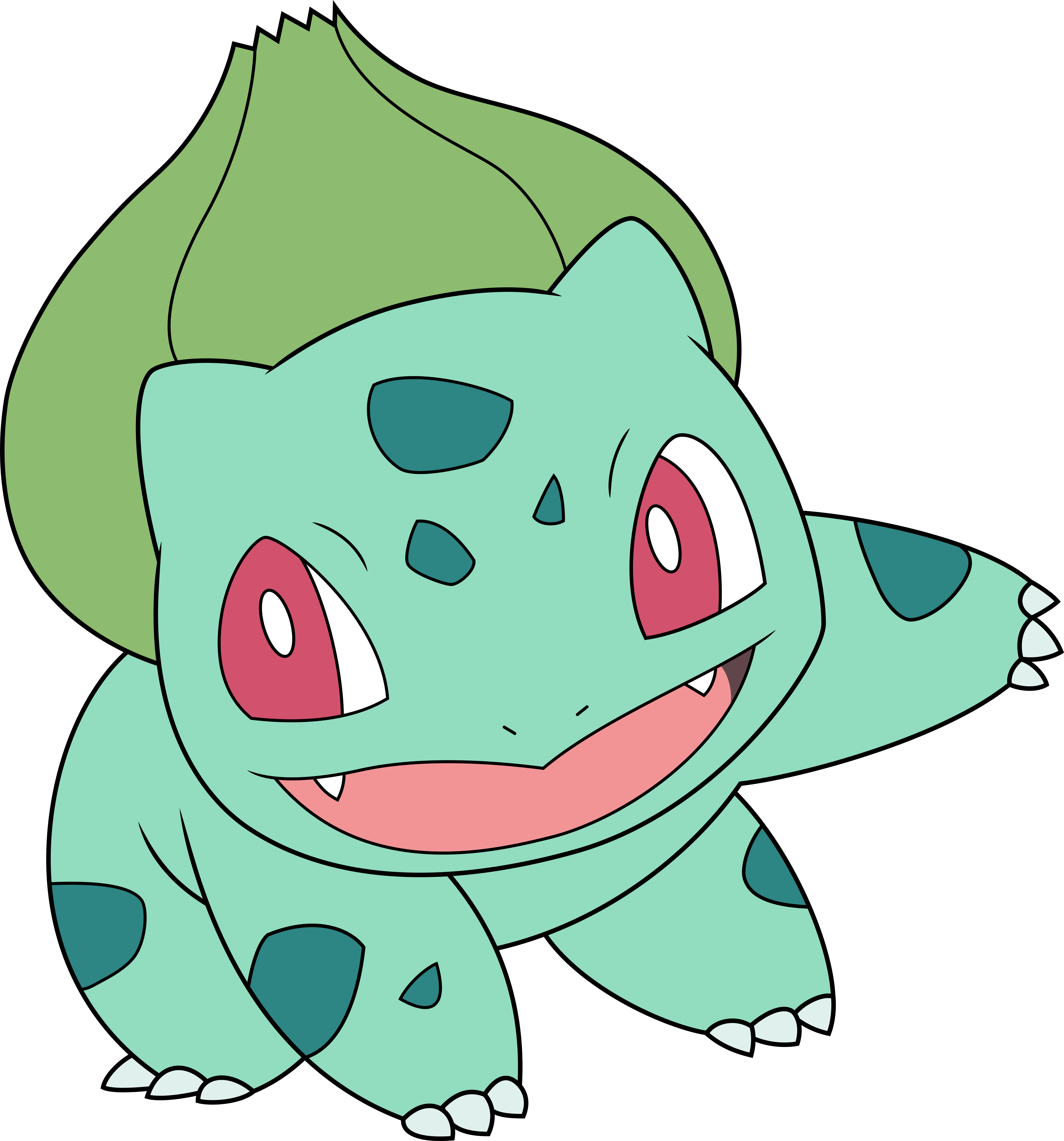 Vector Bulbasaur By Dashiesparkle
