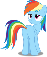 Vector #265 - Rainbow Dash #37 by DashieSparkle