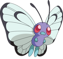 Vector #270 - Butterfree by DashieSparkle