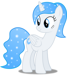 Vector #275 - Princess White Flare #10 by DashieSparkle