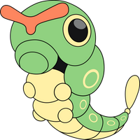 Vector #280 - Caterpie by DashieSparkle