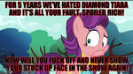 My Message to Spoiled Rich by DashieSparkle