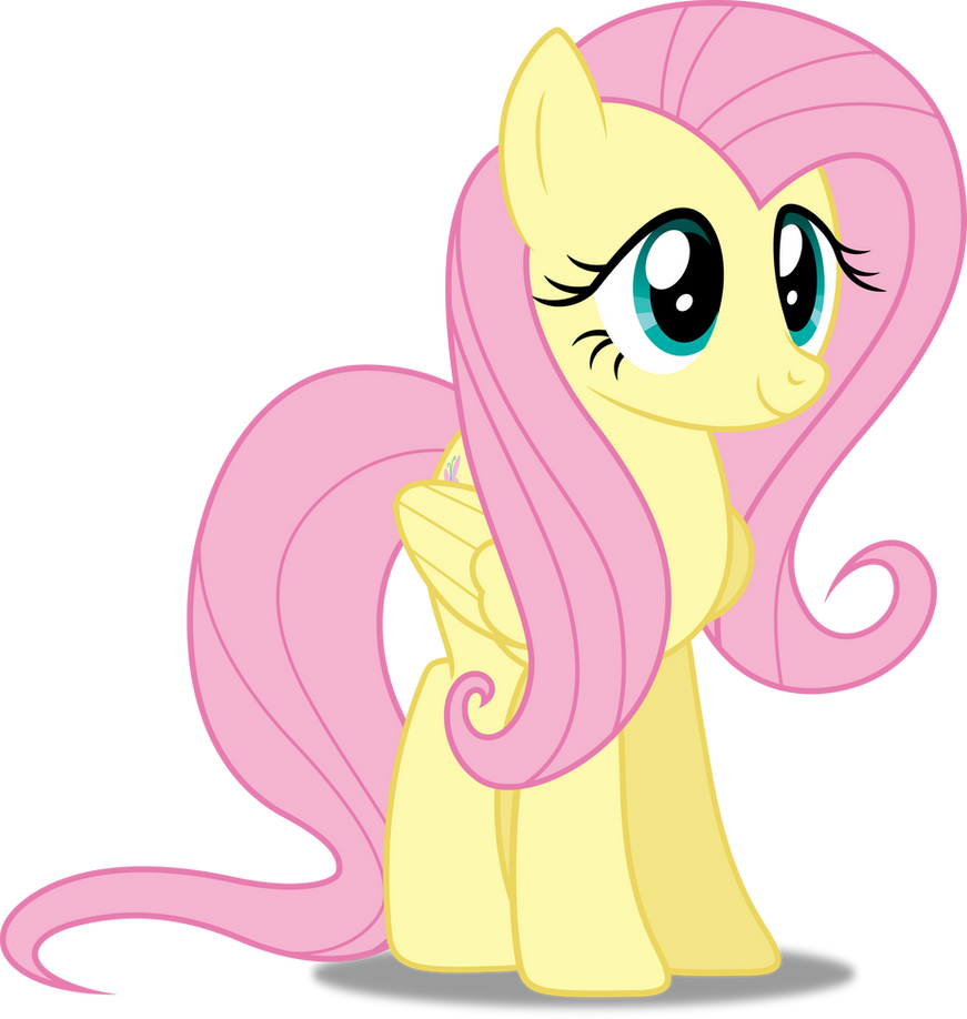 Fluttershy Happy Vector