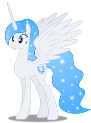 Vector #306 - Princess White Flare #11 by DashieSparkle