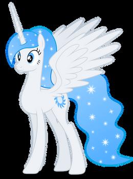 Vector #306 - Princess White Flare #11