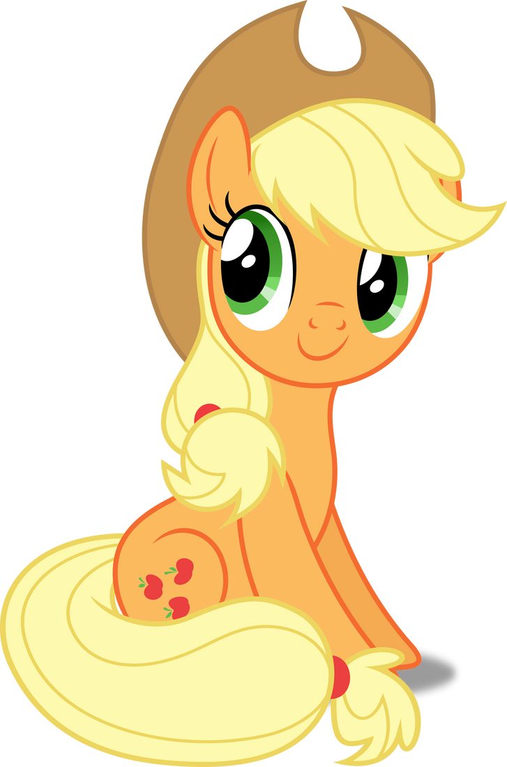 5594 applejack my little - photo #14
