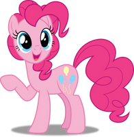 Vector #316 - Pinkie Pie #19 by DashieSparkle