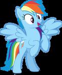 Vector #319 - Rainbow Dash #42