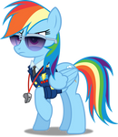 Vector #326 - Rainbow Dash #43