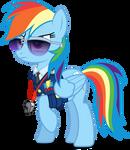 Vector #326 - Rainbow Dash #43