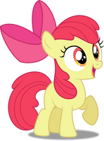 Vector #327 - Apple Bloom #8 by DashieSparkle