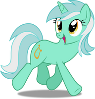 Vector #333 - Lyra Heartstrings #3 by DashieSparkle