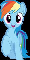 Vector #340 - Rainbow Dash #44 by DashieSparkle