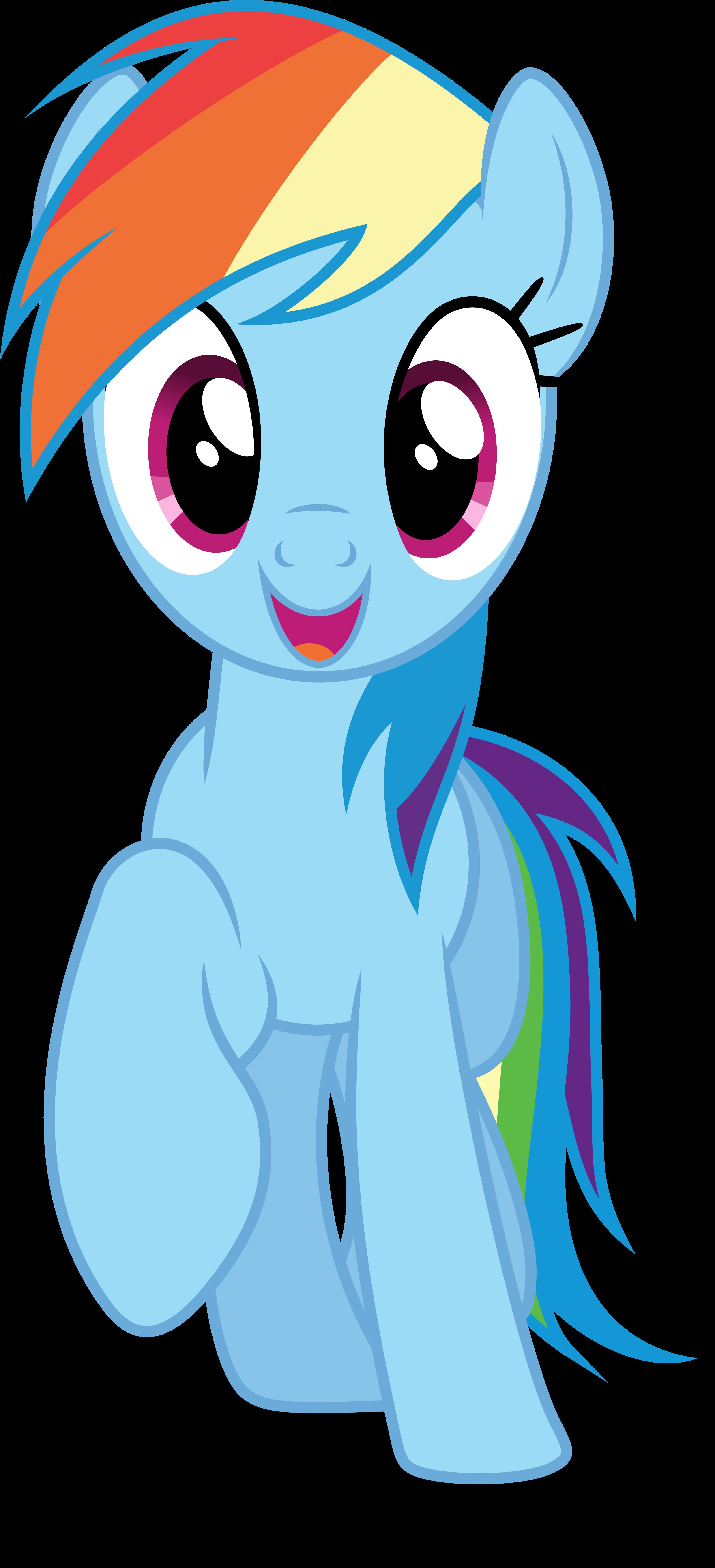 Mlp Fim Rainbow Dash () vector #3 by luckreza8 on