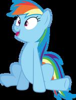 Vector #348 - Rainbow Dash #45 by DashieSparkle