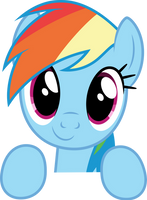 Vector #361 - Rainbow Dash #47 by DashieSparkle