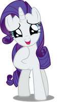 Vector #370 - Rarity #17 by DashieSparkle