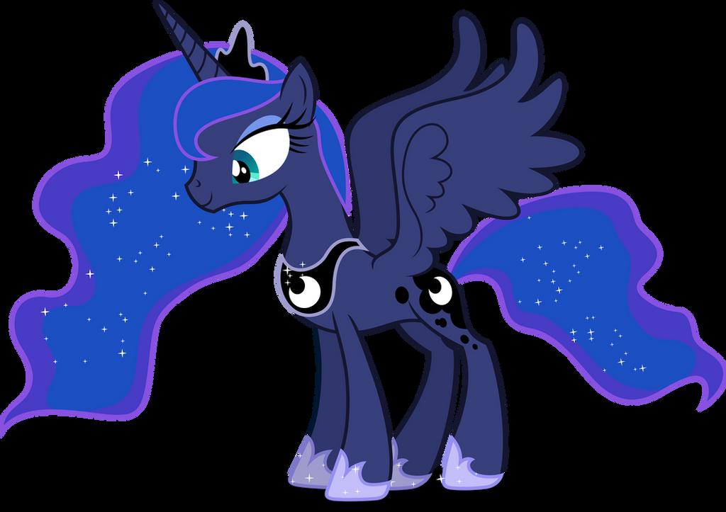 vector 376  princess luna 10dashiesparkle on deviantart