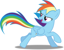Vector #388 - Rainbow Dash #50 by DashieSparkle