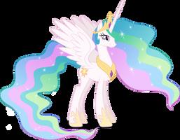 Vector #403 - Princess Celestia #3 by DashieSparkle