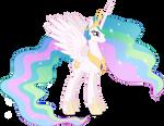 Vector #403 - Princess Celestia #3