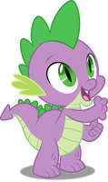 Vector #404 - Spike #15 by DashieSparkle