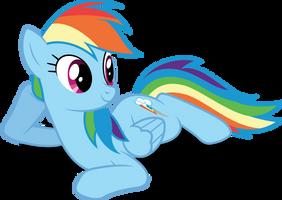 Vector #408 - Rainbow Dash #52 by DashieSparkle
