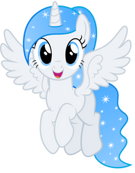 Vector #410 - Princess White Flare #13 by DashieSparkle