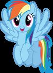Vector #415 - Rainbow Dash #53