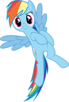 Vector #421 - Rainbow Dash #54 by DashieSparkle
