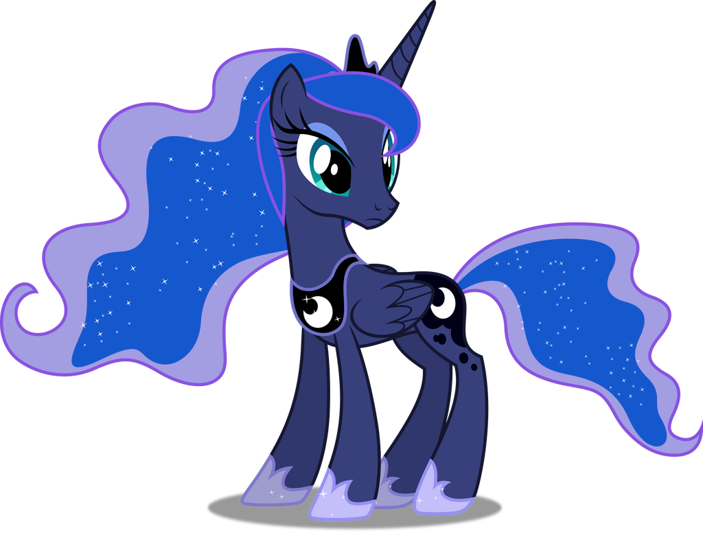 vector 432 princess luna 12 by dashiesparkle on deviantart