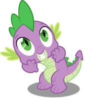 Vector #461 - Spike #16 by DashieSparkle