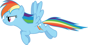 Vector #475 - Rainbow Dash #58