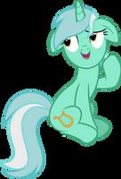 Vector #484 - Lyra Heartstrings #4 by DashieSparkle