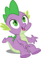 Vector #485 - Spike #17 by DashieSparkle