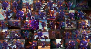 Skylanders Academy - Spyro Wallpaper by DashieSparkle