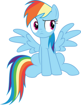 Vector #945 - Rainbow Dash #87