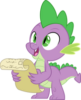 Vector #946 - Spike #27 by DashieSparkle