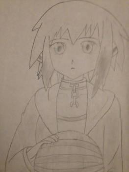 Ikaros Drawing (Sora no Otoshimono)