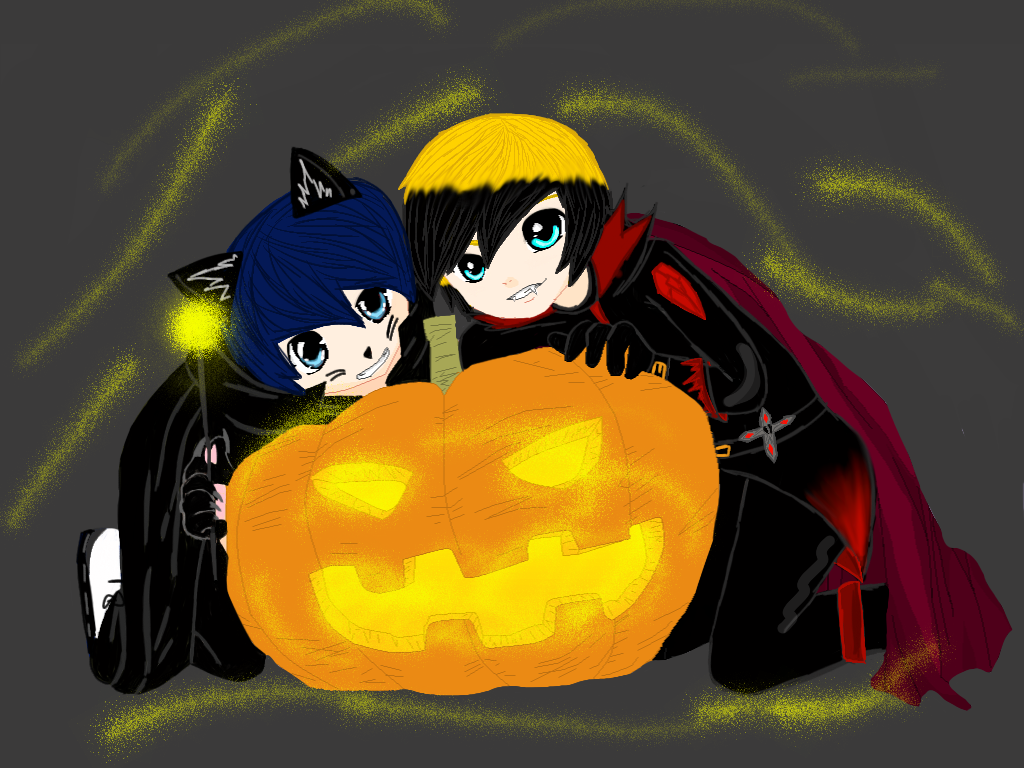 Happy early Halloween by Utia2012
