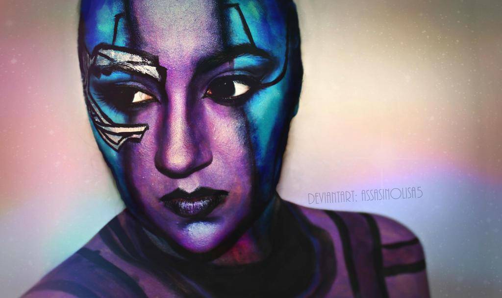 gardians nebula face - photo #19