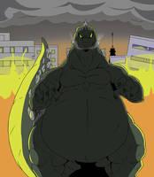 Godzilla!!! by Reagan700