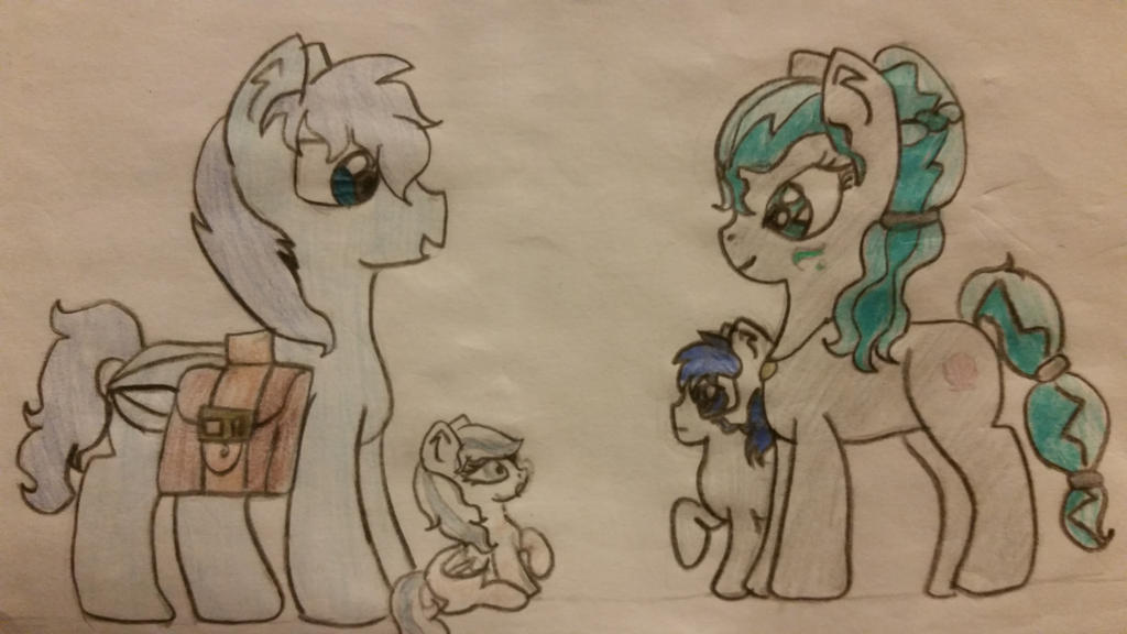 Nightcore's adoptive family by pegasister333