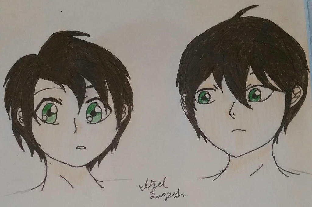 HIroaki and Hansuke by pegasister333